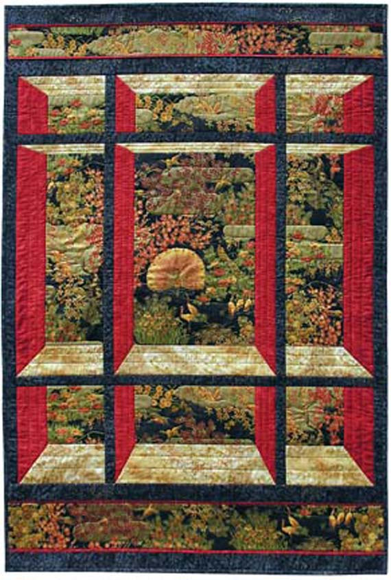 Quilting Panels Quilt Patterns : Fabric Panel Quilt Patterns