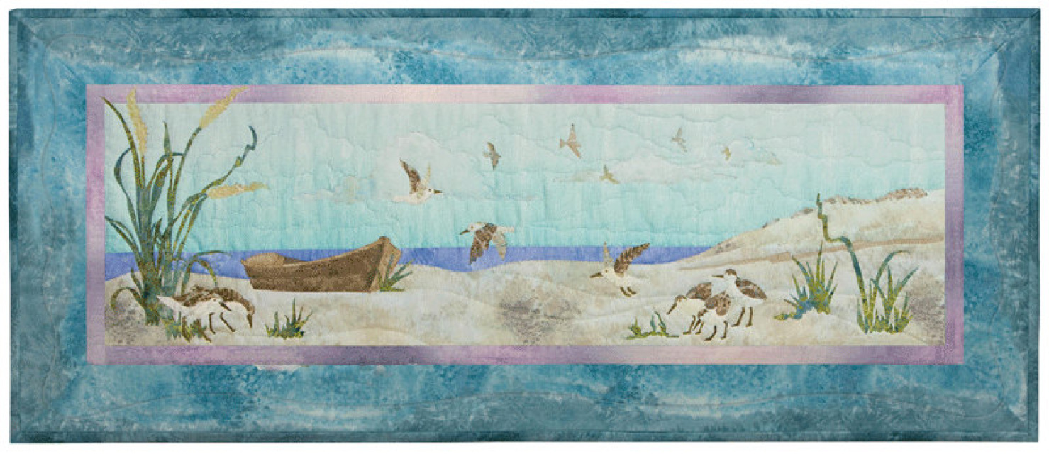 Beach Walk Mckenna Ryan Quilt Block Series Birds Of A Feather