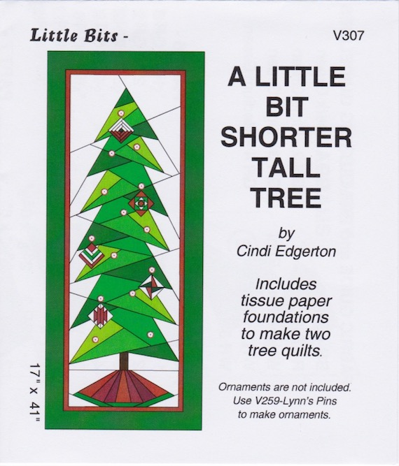 Paper Pieced Christmas Tree Pattern: Paper Pieced Quilt Patterns