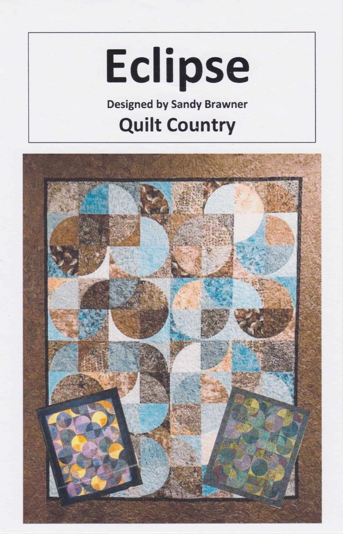 Eclipse Quilt Pattern Quilt Country Diy Quilting Great With Batik